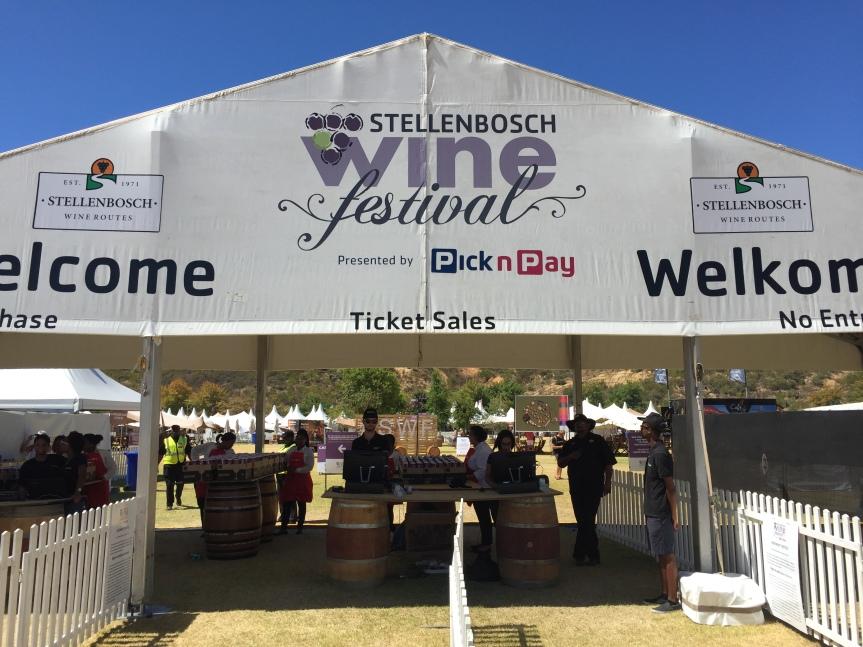 Pick n Taste Time atStellenbosch