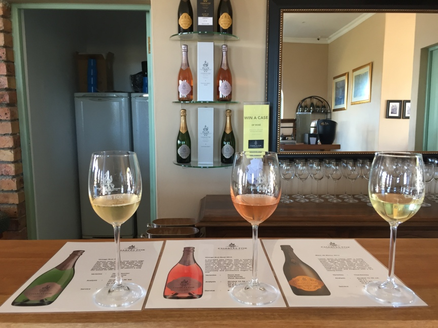 A Sparkling Tasting at Charles Fox