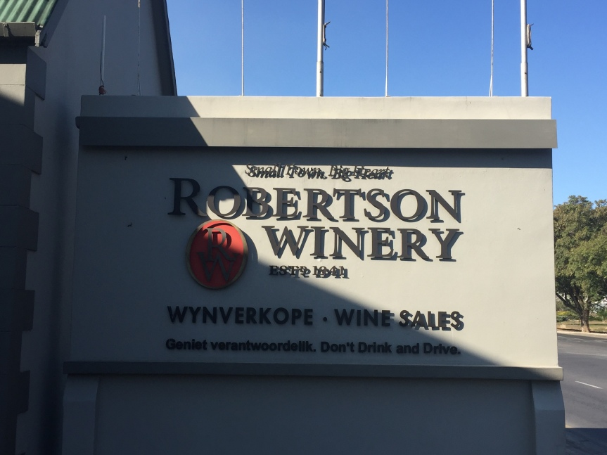 Robertson – Town by Name, Wine byName