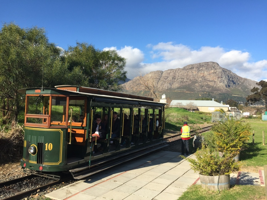 Tram-Way to Heaven in Franschhoek